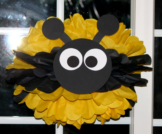 Bumble bee, baby shower - Dale Detalles