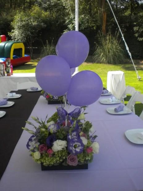 centro de mesa con globos14