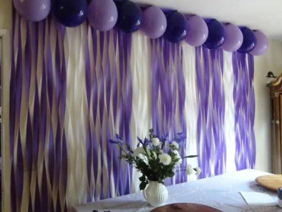 decoracion con papel creppe16