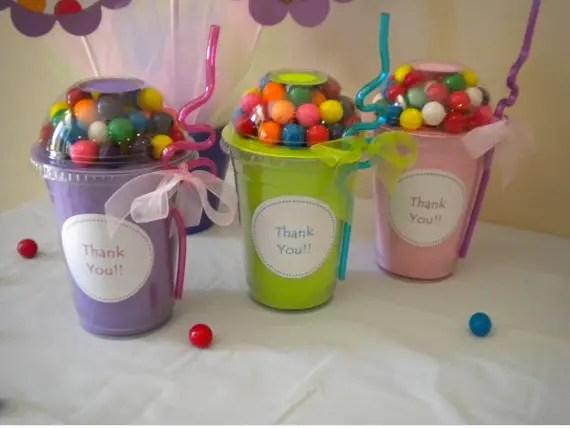 Dulceros originales con vasos desechables dale detalles - Vasos para cumpleanos infantiles ...