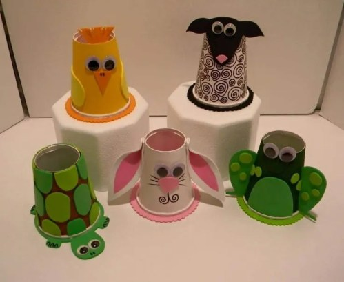 dulceros con vasos desechables25