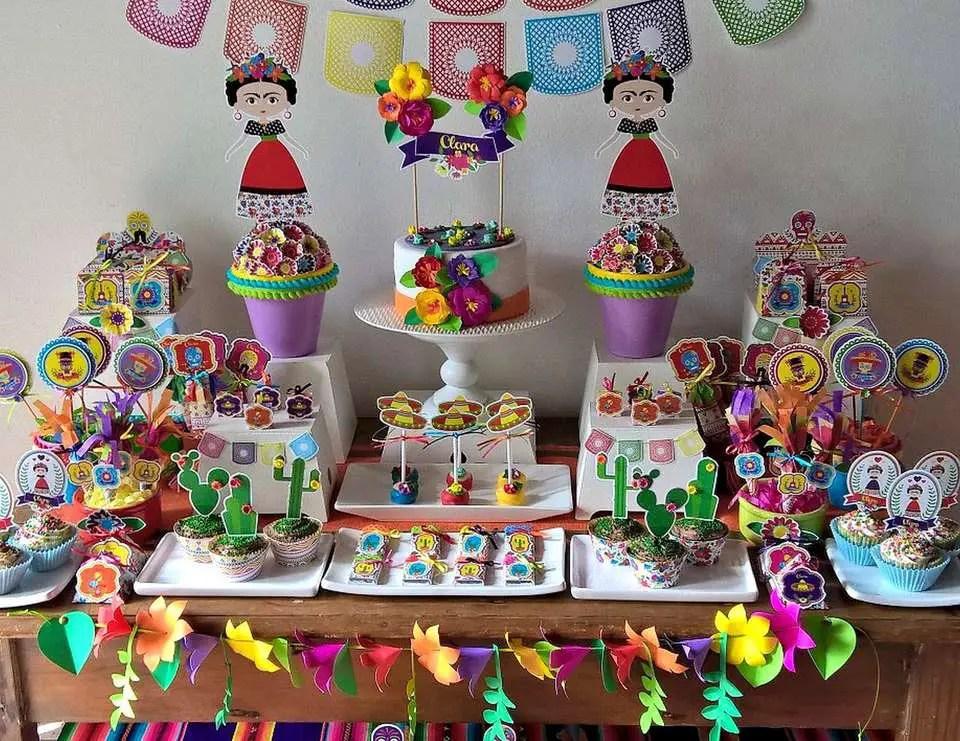 Fiesta tem tica frida kahlo dale detalles - Ideas para fiesta 40 cumpleanos ...