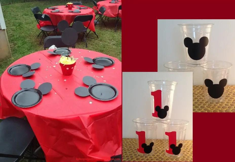 Minnie y mickey mouse fiesta infantil dale detalles - Vasos para cumpleanos infantiles ...