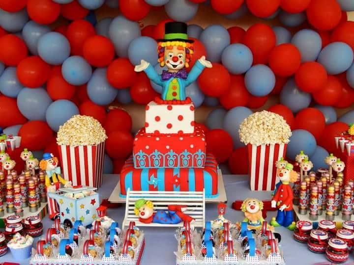 Fiesta infantil de payasos dale detalles - Fiesta cumpleanos infantil en casa ...