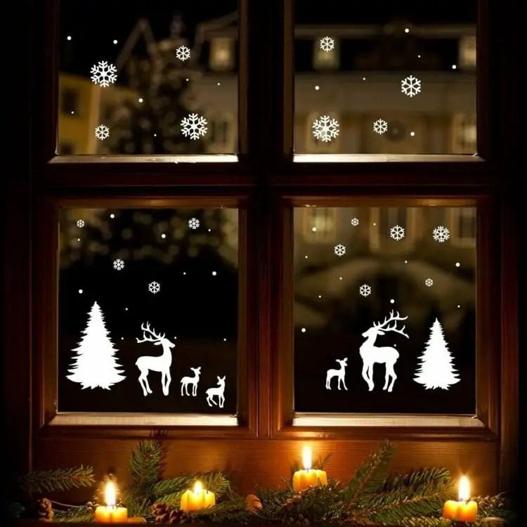 decora tus ventanas en navidad dale detalles