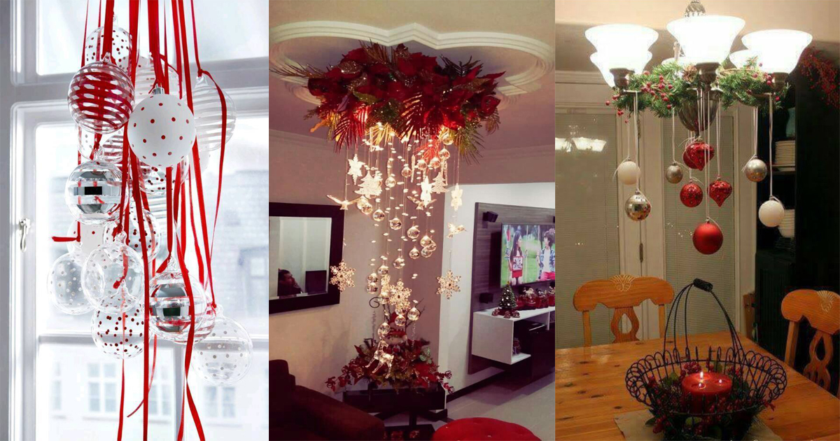Hermosas ideas para decorar con esferas en navidad dale Ideas para decorar la casa en navidad