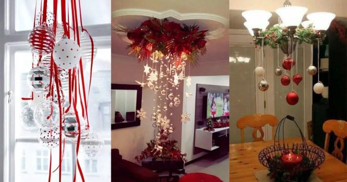 Hermosas ideas para decorar con esferas en navidad dale for Decoraciones de navidad para hacer en casa
