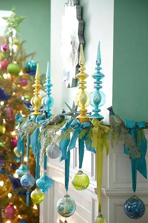 Hermosas ideas para decorar con esferas en navidad dale - Decorar bolas de navidad ...