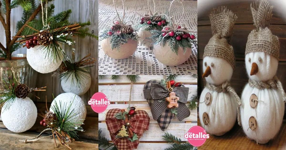 Decoraci n navide a estilo r stico dale detalles - Decoracion navidena para oficinas ...