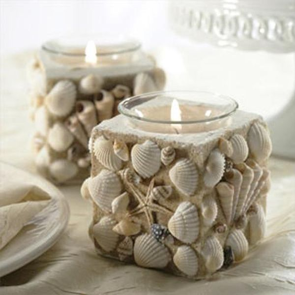 Decoraci n con conchas marinas y caracoles dale detalles - Decoracion con conchas ...