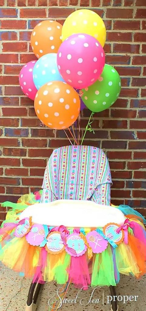 silla de bebe decorada15