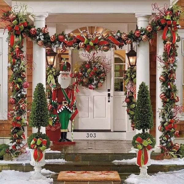 Ideas Para Decorar Columnas En Navidad Dale Detalles