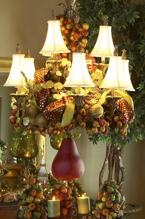 Ideas para decorar l mparas de techo en navidad dale for Ideas para decorar arbol de navidad 2016
