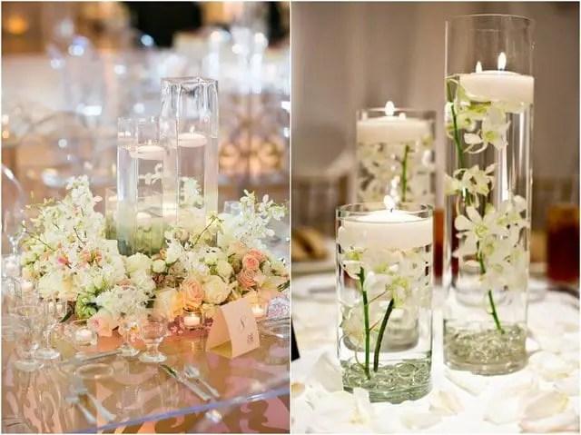 Hermosos centros de mesa con velas flotantes dale detalles - Velas centro de mesa ...