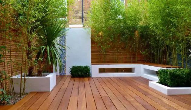 Patio Deck Garden