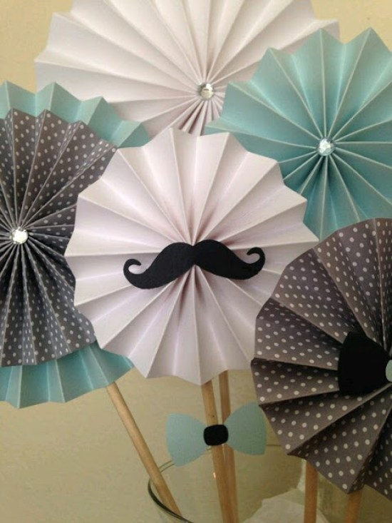 Rosetones de papel para decorar tu fiesta Dale Detalles