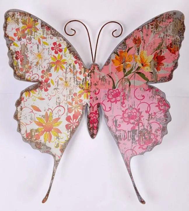 Como hacer mariposas de papel estilo vintage dale detalles - Como hacer mariposas de papel para decorar paredes ...