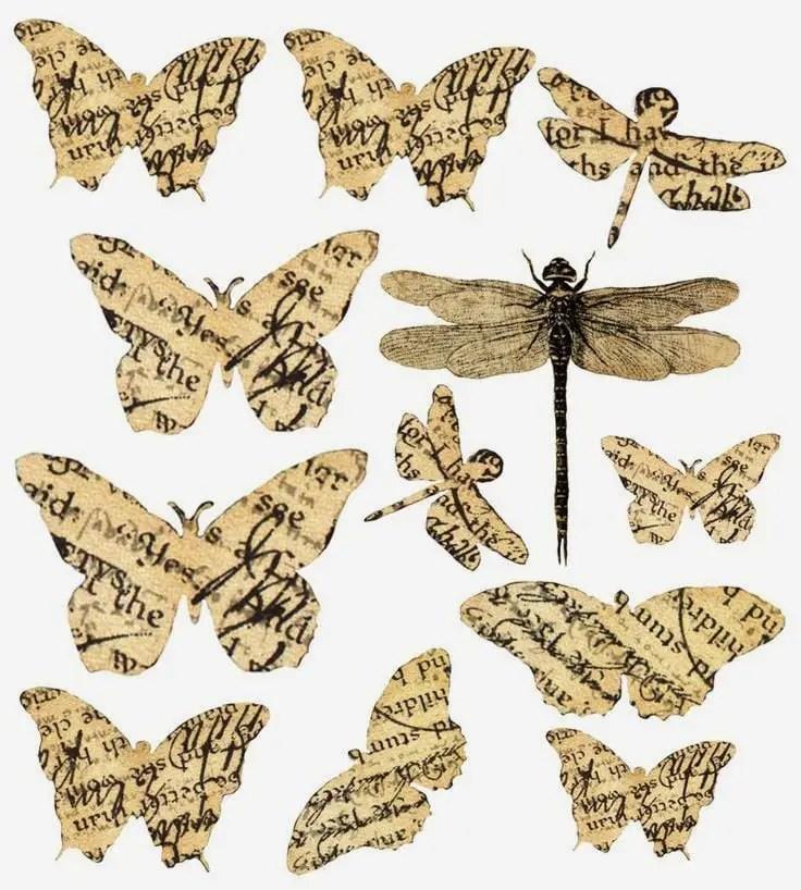 como hacer mariposas de papel estilo vintage dale detalles