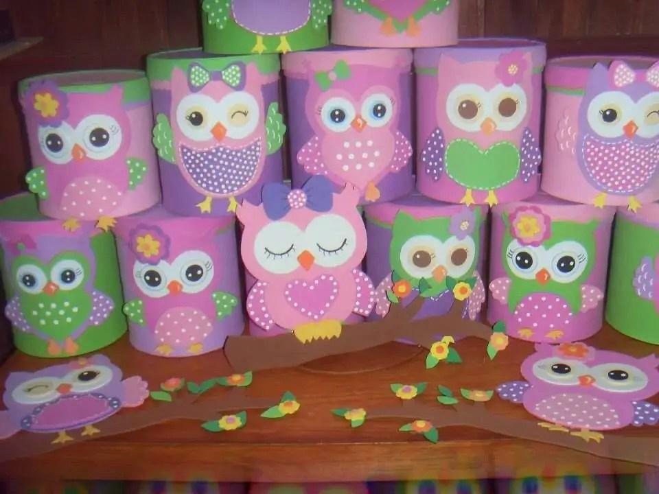 Latas decoradas con foami o goma eva dale detalles for Aplicaciones decoradas