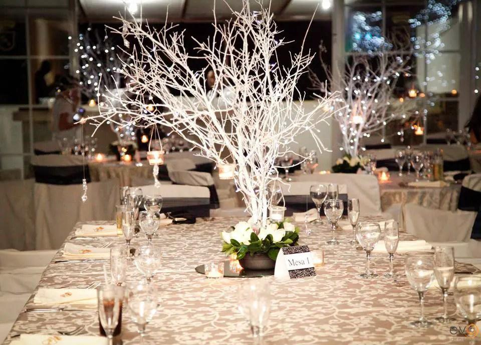 Hermosos centros de mesa con ramas secas dale detalles - Ramas de arbol para decoracion ...