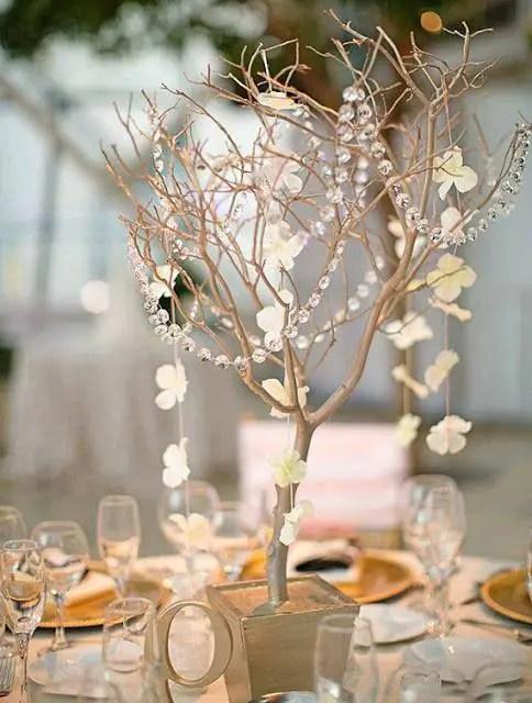 Hermosos centros de mesa con ramas secas dale detalles - Jarrones rusticos ...
