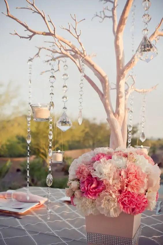 Hermosos centros de mesa con ramas secas dale detalles - Ramas decoradas ...
