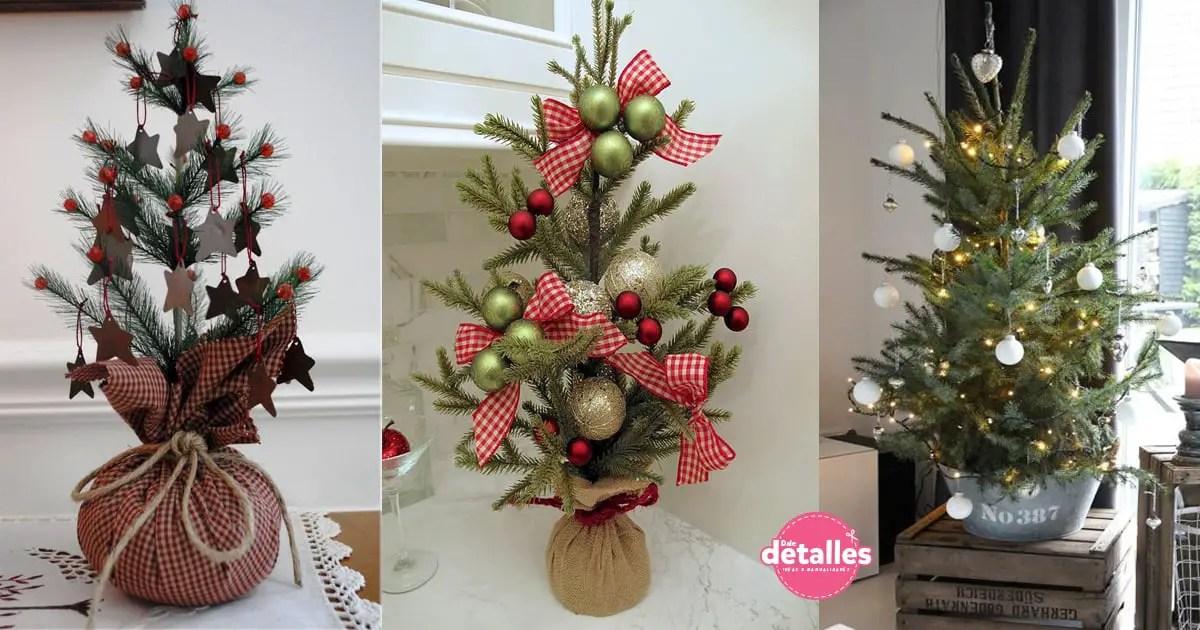 Ideas para hacer tu propio árbol de Navidad - Dale Detalles