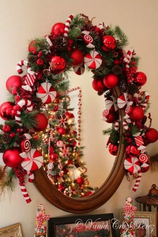 Ideas Para Decorar Espejos En Navidad Dale Detalles