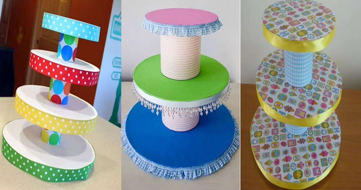 Soporte para cupcakes dale detalles - Como hacer un cumpleanos original ...