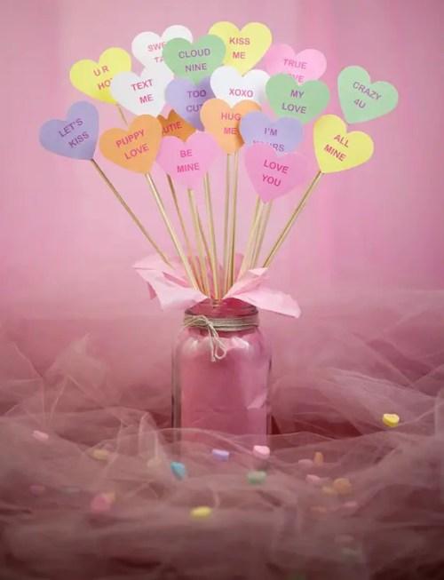 Ideas Para Decorar Con Corazones El Da De Los Enamorados
