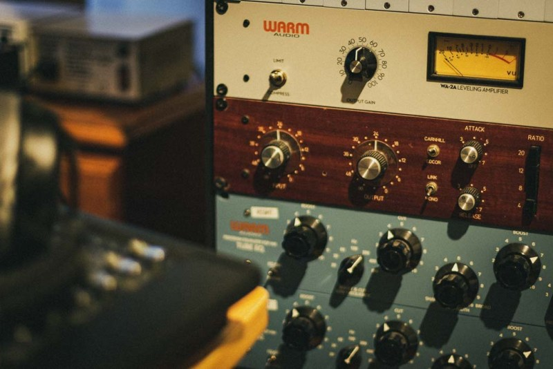 Warm Audio Pultecs and 1776 Compressor
