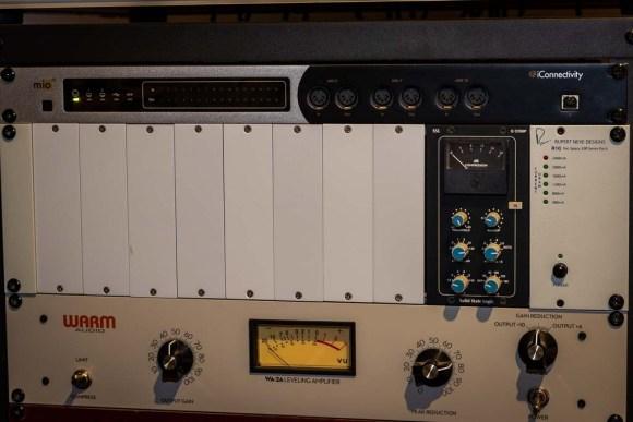 Solid State Logic G-Comp and Warm Audio WA-2A