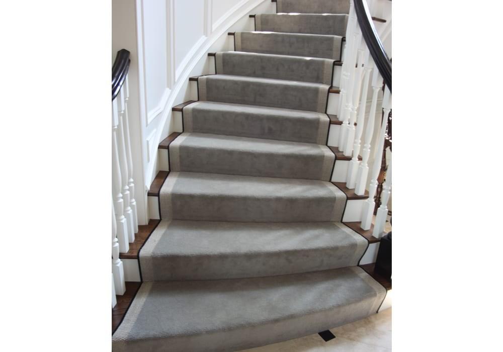 Hallway Carpet Stair Hallway Carpet Runners Dalene Flooring | Stair Runners For Carpeted Stairs | Round Corner | Marble | Hardwood | Commercial | Tile Stair