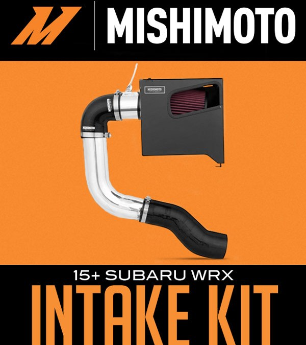 Mishimoto Performance Intake Kit: 2015+ Subaru WRX