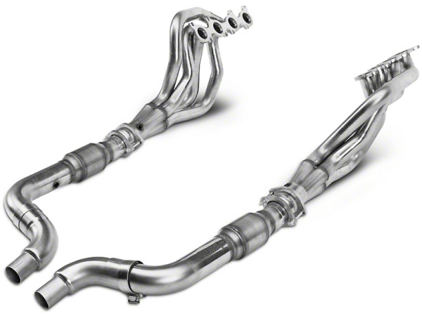Kooks Headers cat-back exhaust systems for 2015+ Mustang convertible