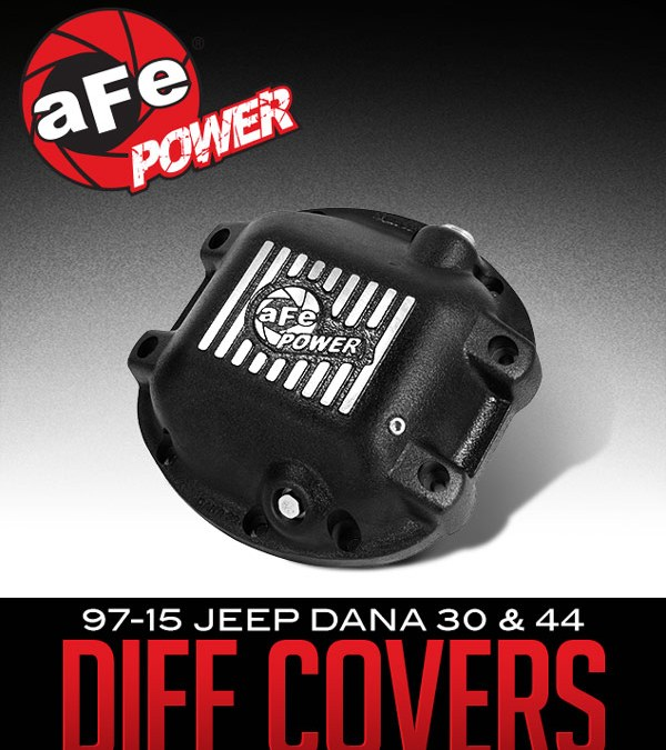 AFE POWER PRO SERIES DIFFERENTIAL COVERS: 1997-2015 JEEP DANA 30 & DANA 44