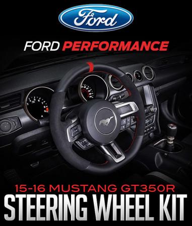FORD PERFORMANCE 2015-2016 MUSTANG GT350R STEERING WHEEL KIT