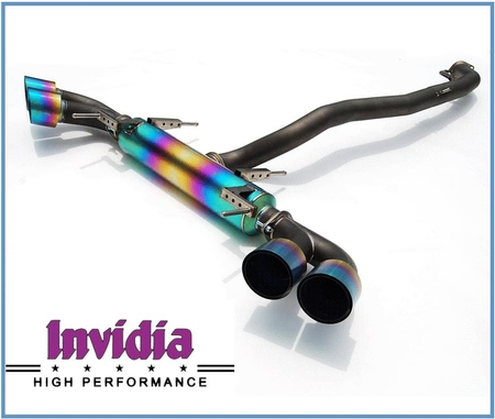 New Exhaust Options from Invidia and MBRP!!!