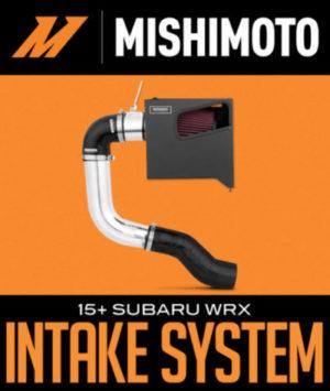MISHIMOTO PERFORMANCE RACE INTAKE SYSTEM: 2015+ SUBARU WRX