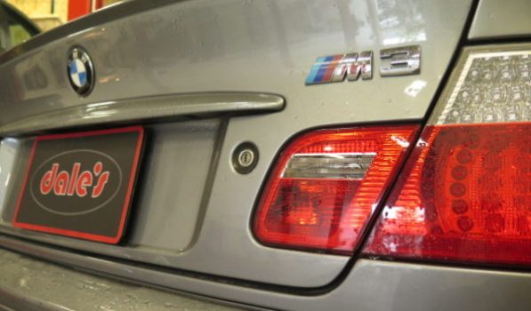 2005 BMW M3 in for KW V2 Coilovers and a 4 Wheel Alignment set-up