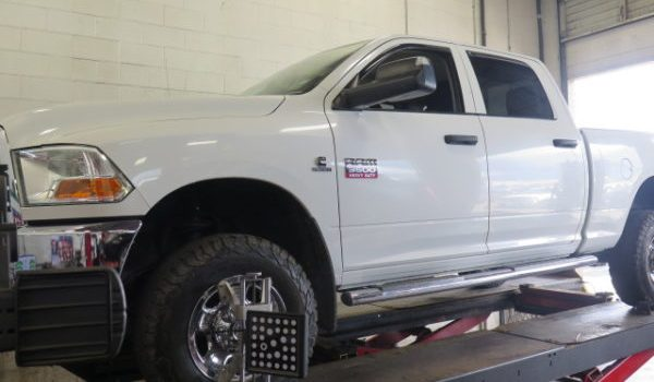 Ram3500 in for a TRUXXX Level-off kit