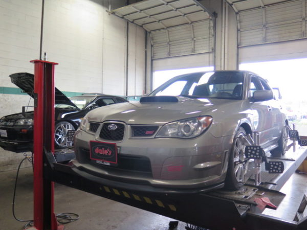 2006 Subaru WRX STi in for Bilstein PSS-9 and an Alignment Set-up