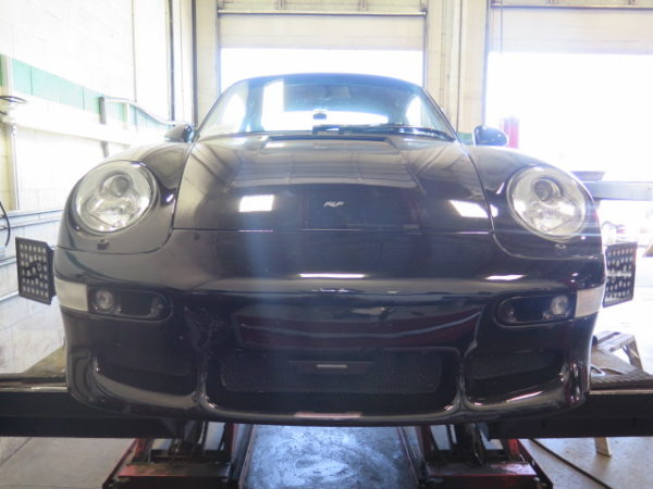 RUF 993 Turbo R if for an custom alignment set-up