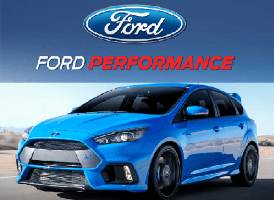 FORD RACING POWER CALIBRATION: 2016-2017 FORD FOCUS RS