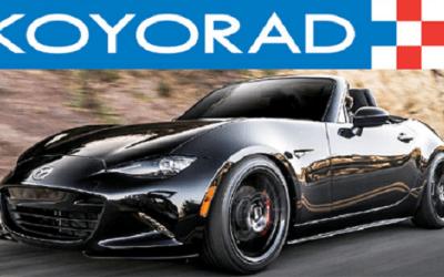 KOYORAD ALL-ALUMINUM RACE RADIATOR: 2016+ MAZDA MX-5 MIATA