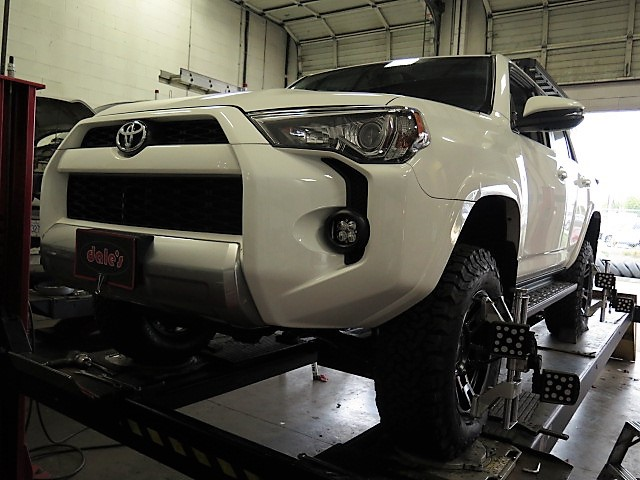 2016 Toyota 4-Runner with a Toytec BOSS Suspension System at Dales Auto Service