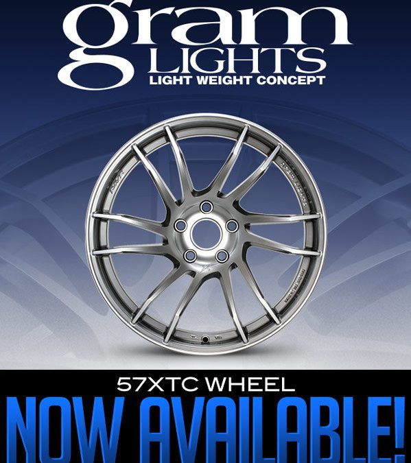 THE NEW GRAM LIGHTS 57XTC WHEEL NOW AVAILABLE!