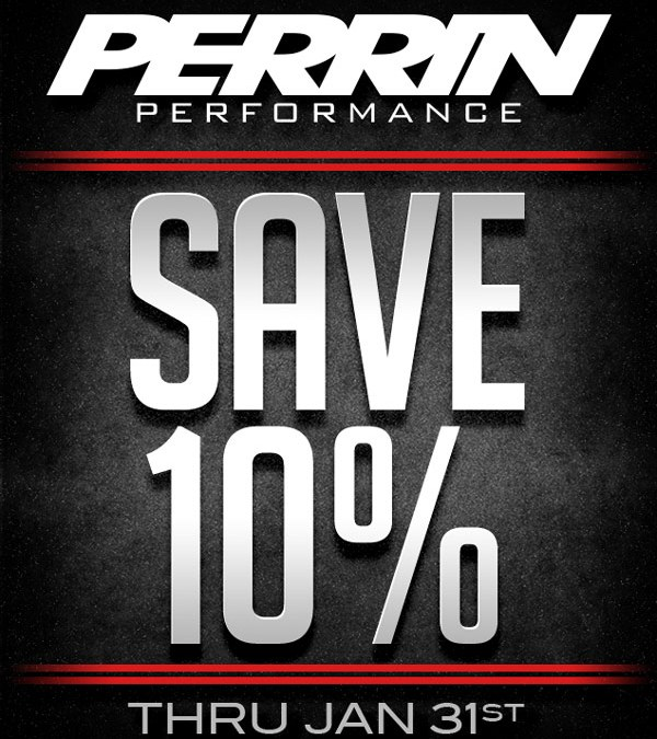 Save 10% on all Perrin products for the entire month of January