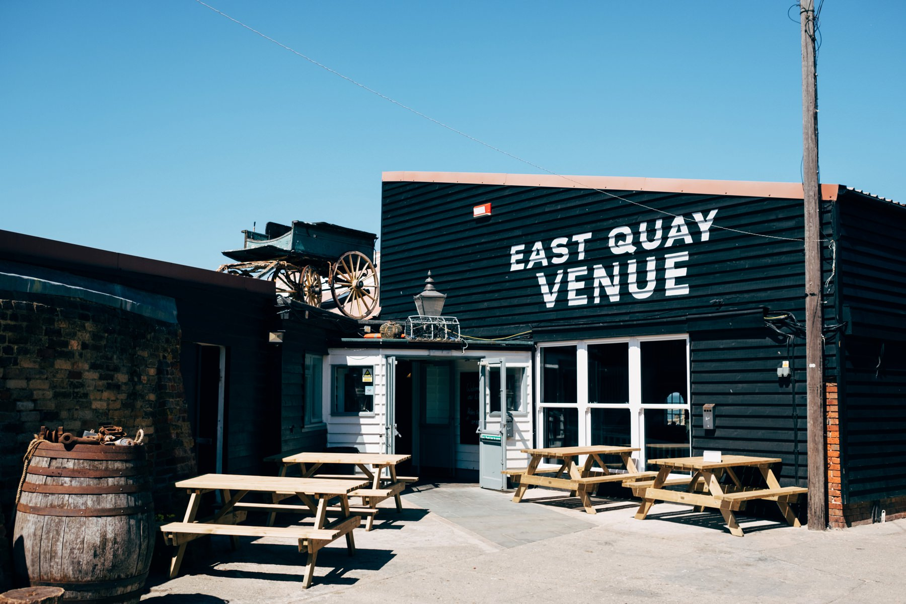 lobster shack east quay whitstable wedding alternative