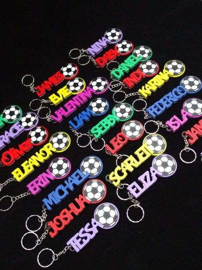 Football Keyrings